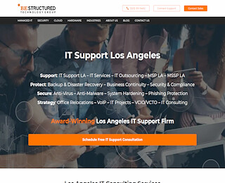 It Support Companies Los Angeles Ca