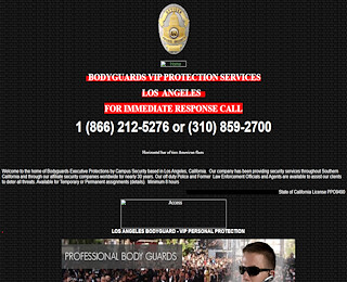 Bodyguards Los Angeles
