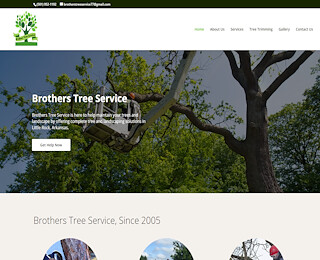Tree service in Bryant