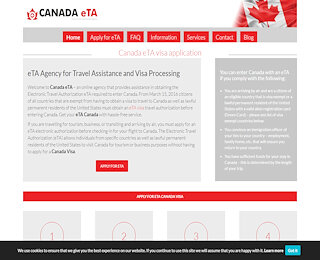 Canada Electronic Travel Authorization