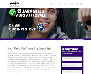 Regina Guaranteed Vehicle Loans