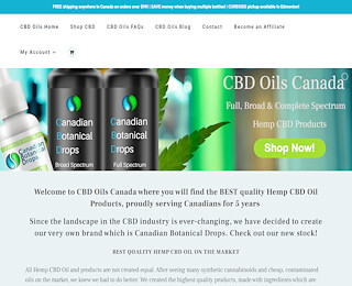 CBD oil for anxiety Canada