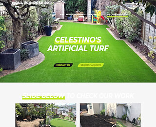 artificial landscape grass Ontario