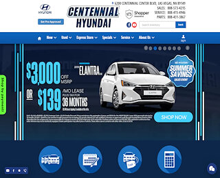 centennialhyundailasvegas.com