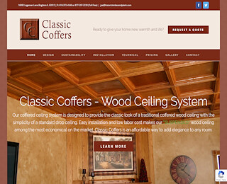 , Suspended Wood Ceilings