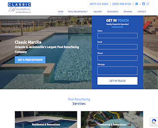 Commercial Pool Renovations Orlando