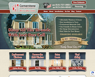 cornerstonewindowskc.com