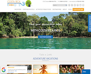 Costa Rica Adventure Vacations All Inclusive