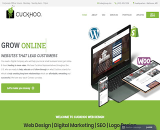 website designer Baltimore MD