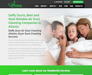 Atlanta Ga Air Duct Cleaning