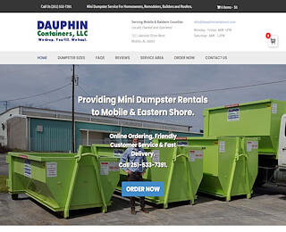 Roll Off Dumpster Rental Daphne Al