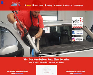 windshield crack repair Lancaster CA