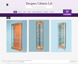 Glass Bespoke Display Cases