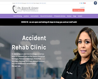 clinica de accidentes de auto en Miami Lakes