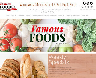 Health Food stores Vancouver