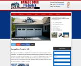 Residential garage Door Frederick