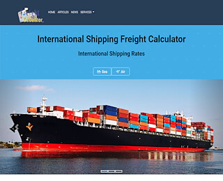 Shipping Freight Calculator