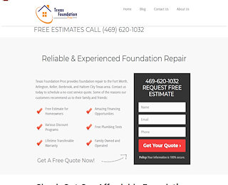 Foundation Repair Cost Fort Worth