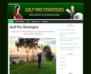 Golf Pro Strategies