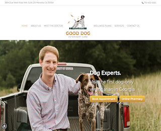 Good dog veterinary Marietta