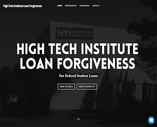 hightechinstituteloanforgiveness.com