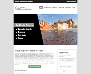 Commercial Concrete Contractor Houston