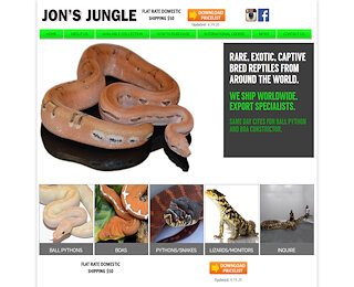Worldwide Captive Bred Reptile Sales