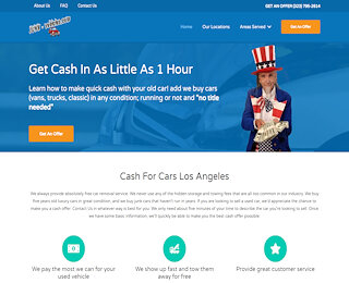 Cash For Junk Cars San Fernando Valley