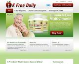 Multi Vitamin Without Vit K
