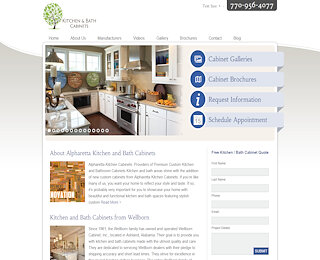 White Kitchen Cabinets Alpharetta