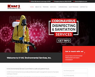 California corona virus remediation