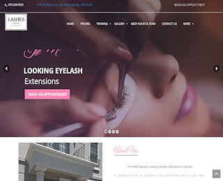 Lash Extensions Sandy Springs
