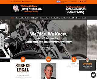 New Jersey Motorcycle Attorney