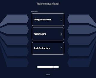 leafgutterguards.net