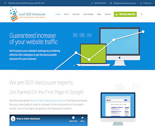 Website design in Vancouver