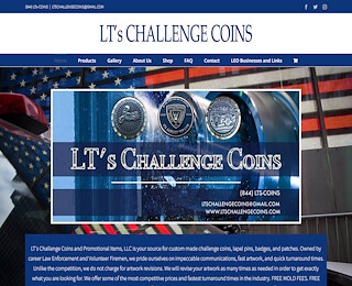 Custom Law Enforcement Challenge Coins