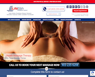 Calgary Relaxation Massage
