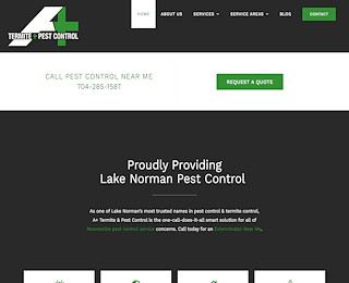affordable pest control services Mooresville