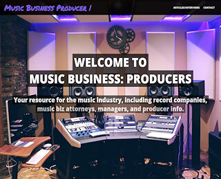 Music Producer Manager