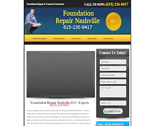 Basement Waterproofing Nashville