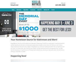 Mattress Stores Chattanooga TN