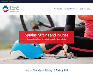 Sports injuries urgent care