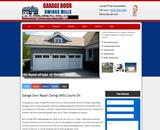 Commercial garage door Owings Mills