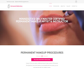 Permanent Makeup Lip Color MN