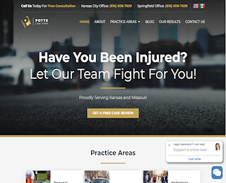 personalinjurymissouri.potts-law.com