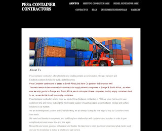 pesacontainercontractors.co.za