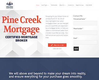pinecreekmortgage.com