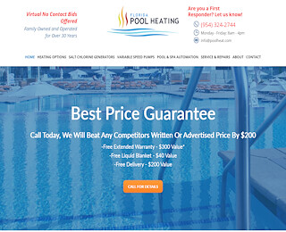 Cooper City Solar Pool Heating
