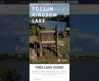 Possum Kingdom Homes For Sale
