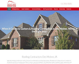 Residential Roofing Repair Company Des Moines Ia
